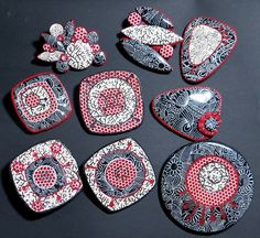 Completed ornamental collection by Saffron Addict, via Flickr