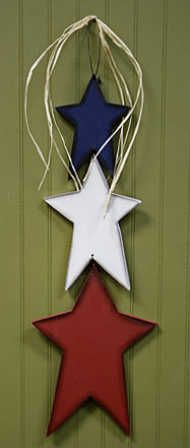 Fourth of July craft!! Red, White & Blue!!