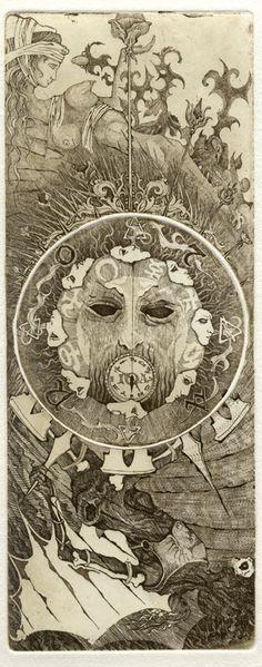 la ruota della fortuna - Giona Fiocchi - Iona Tarot