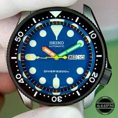 10772e3aa47a Four Forty Four PM- Seiko Mods•Custom Seiko Watch Modifications•Seiko Diver  SKX007 Mods