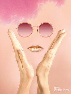 Lunettes Attitudes Magazine Printemps-Été 2018 par Agence 100% et Preview. Premier magazine des Opticiens Indépendants de France ! #eyes #eyewear #fashion #tendances #glasses #lunettes #opticien #optician #optique #luz #luzoptique #magazine #webzine #pink