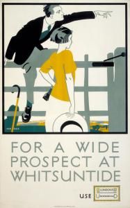 For a Wide Prospect at Whitsuntide by Frederick Charles Herrick, 1922