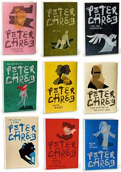 Peter Carey by Jenny Grigg