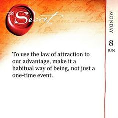 Law Of Attraction Law of attraction! Are You Finding It Difficult Trying To Master The Law Of Attraction?Take this 30 second test and identify exactly what is holding you back from effectively applying the Law of Attraction in your life. Positive Life, Positive Thoughts, Positive Energie, Secret Quotes, Law Of Attraction Affirmations, Secret Law Of Attraction, The Secret Book, To Manifest, Positive Affirmations