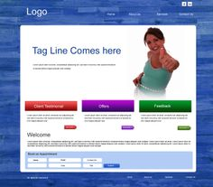 Website Design for Fitness Vertical