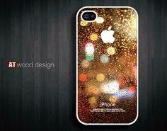 unique iphone 4 case iphone 4s case iphone 4 cover Rain drop of water design