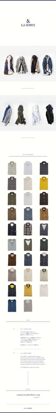 S Shirts | 縦長のwebデザインギャラリー・サイトリンク集|MUUUUU_CHANG Web DESIGN Showcase