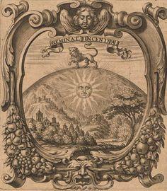 Mundus Symbolicus in Emblematum. Antique Illustration, Illustration Art, Alchemy, Ancient Paper, Tarot, Human Body Art, Esoteric Art, Masonic Symbols, Occult Art