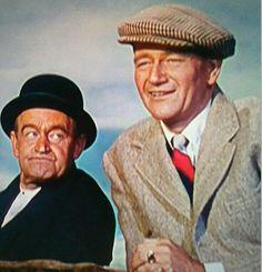 John Wayne & Barry Fitzgerald in The Quiet Men