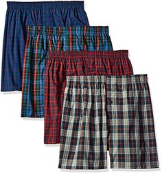 Fruit of the Loom Men's Premium Woven Boxer Pack), Tartan, Large: No bunching or binding when you wear the new Fruit of the Loom Premium Boxers. Every detail of the Fruit of the Loom Premium underwear collection is made for all-day comfort and great fit. Sewing Patterns Free, Free Sewing, Chicago Shopping, New Crafts, Fruit Of The Loom, Tartan, Casual Wear, Stockings, Man Shop