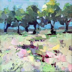 Beyond the Pale by Trisha Adams Oil ~ 12 x 12