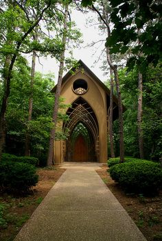 Cooper Chapel:    My interest the view of silence and the preparation to enter. Yes it is here.