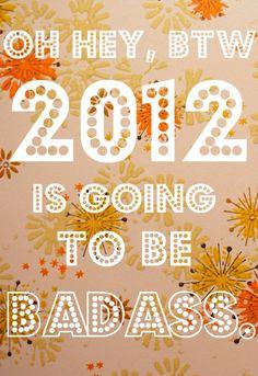 2012 resolutions