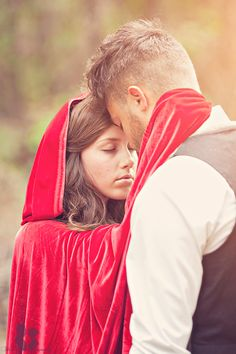 Three Nails Photography - Little Red Riding Hood Photo Shoot