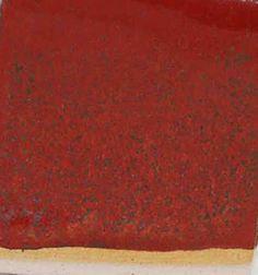 163C -with controlled cooling, thicker application than above. 163 - Red Orange C/6 Minspar 47.7% Talc 17.2% Bone Ash 15.3% Flint 11.6% EPK 4.1% Lithium Carb 4.1% Crocus martis 11.5% Bentonite 2%