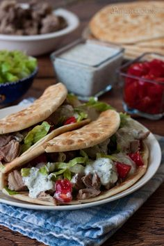 Greek Taco Recipe from Pressure Cooking Today; this sounds amazing!