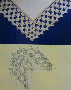 Luty Artes Crochet: Gráficos de barrados de crochê