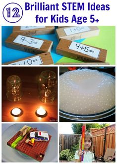 12 STEM Ideas for Kids Age 5 and up