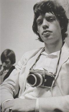 Mick Jagger | #celebritiesbehindcameras