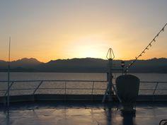 le golfe d'Ajaccio au petit matin