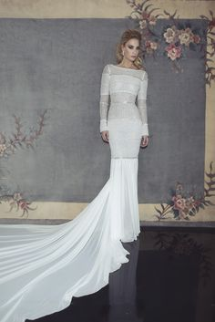 Bridal Gowns Mondays w/ Dany Mizrachi Bridal 2015 Collection. Follow blog @ originalopulence.com for unique ideas for your wedding day! #weddinggown #bridalfashion #bridalgown #lace #lacegown #danymizrachi #mermaidgown #weddingdress #hautecouture #couturebridal #couturewedding #beadedgown #fancywedding  #uniquegown #uniqueweddinggown #uniquebridalgown #weddingblog #bridalblog