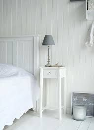 Narrow Pair Nightstand S Shabby Chic White Cottage Antique. White Narrow Bedside Table With Four Drawers Perfect For . Ikea Side Table With Drawer Ideas About Narrow Nightstand . Home and Family Small White Bedrooms, White Bedside Table, New England Bedroom, White Bedroom Furniture, Skinny Bedside Table, Small White Bedside Table, Scandinavian Design Bedroom, White Dressing Tables, Narrow Nightstand