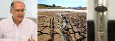 """Governador afirmou que """"o racionamento já existe""""; """"Não tem racionamento no sentido de 'fecha o sistema e abre amanhã'. Isso não tem e nem deve ter. Agora, restrição hídrica, claro que tem"""", disse; Geraldo Alckmin (PSDB) disse que irá recorrer contra a decisão que suspendeu a multa a quem aumentar o consumo de água, até que o governo estadual decrete oficialmente o racionamento; """"Já temos a restrição de água estabelecida pela ANA (Agência Nacional de Águas). Não tem de ter decreto. Isto está…"""