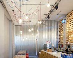 small restaurant design ideas in minimalist interior | coffee shop