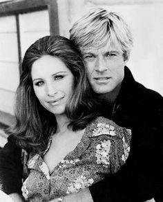Barbra Streisand con Robert Redford - En la película Tal como Éramos. Mi favorita
