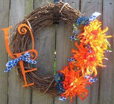 Florida Gators wreath --- so fun!