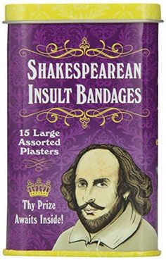 Accoutrements Shakespearean Insult Ba... for only $2.65