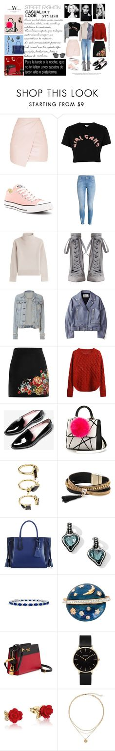 """STREET FASHION"" by imnotyourstyle on Polyvore featuring moda, River Island, Converse, Vanessa Seward, Zimmermann, rag & bone, Acne Studios, Les Petits Joueurs, Noir Jewelry y Simons"