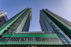"""With detached house prices clear out of reach for many young buyers in Toronto, condos have become the new golden standard for """"starter homes&. Toronto Condo, Downtown Toronto, Green Tower, Toronto Neighbourhoods, Penthouse Suite, Greater Toronto Area, Through The Roof, Starter Home, City Limits"""