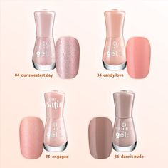 which one of these gel nail polishes is your favourite?