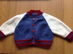 Ravelry: catj's Baseball Jacket - Debbie Bliss pattern