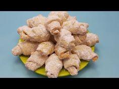 Cornulete fragede de se topesc in gura, cu untura de porc si vin alb - reteta din 1934 - YouTube Cake Recipes, Snack Recipes, Snacks, Romanian Food, Chips, Make It Yourself, Cookies, Breakfast, Health