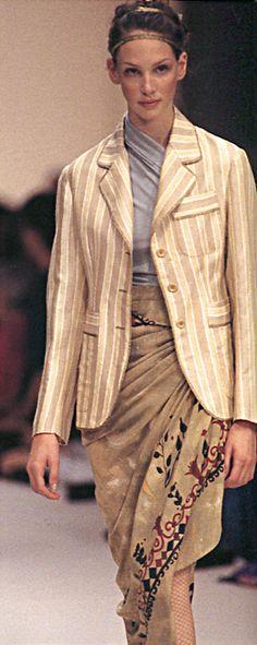 Romeo Gigli 1994. Model / Debbie Deitering