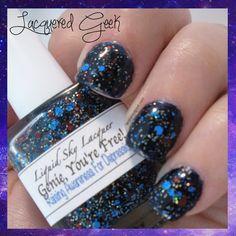 Liquid Sky Lacquer: Genie, You're Free! | lacqueredgeek.com