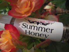 Summer Honey a r t i s a n  p e r f u m e  o by thedirtyhousewife, $9.50