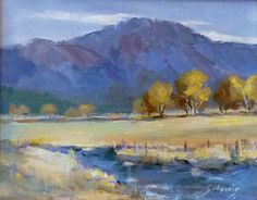 This original oil painting is from a plein air sketch while near Las Vegas, Nevada. on Etsy, $380.00