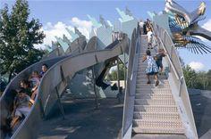 Parc de la Villette - Jardin du Dragon.  My kids will LOVE this!