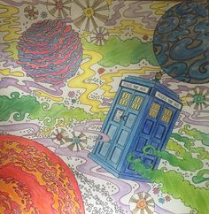 Doctor Who Coloring Book My First Adult And Im