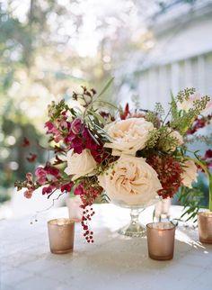 Wedding reception centerpiece idea; Featured photographer: Archetype