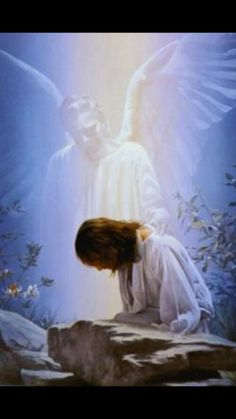 Kimberly Marooney We are all cradled in the supportive and protective care of guardian angels. Our guardian angels are messengers from God, sent to guide us as we make our way through life. Image Jesus, Padre Celestial, Your Guardian Angel, Jesus Art, Angels Among Us, Jesus Pictures, Jesus Is Lord, Son Of God, Angel Art