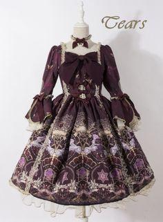 Unicorn Tears -City Called Heaven- Lolita Normal Waist OP Dress