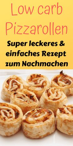 Low carb Pizza Rollen - Schnell und kinderleicht - Lebensheld eating recipes for dinner low carb Low Carb Pizzarolle [Perfekte Alternative]- Low Carb Held Low Carb Recipes, Diet Recipes, Healthy Recipes, Pizza Recipes, Smoothie Recipes, Dessert Recipes, Cooker Recipes, Snacks Recipes, Brunch Recipes