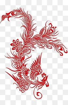 Batman V Superman Poster, Confidence Tattoo, Phoenix Tattoo Design, Dragons, Chinese Embroidery, Henna Tattoo Designs, Black And White Drawing, Kirigami, Box Art