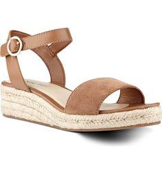 9a93591debc Main Image - Nine West Allium Ankle Strap Sandal (Women) Sandales  Espadrilles