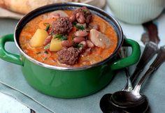 14 házias LEVES burgonyával, ami után elég egy palacsinta Pot Roast, Beef, Ethnic Recipes, Soups, Carne Asada, Meat, Roast Beef, Ox, Soup