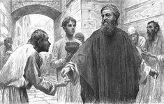 Eugène Burnand  The Pharisee and Tax Collector Luke 18:10-14